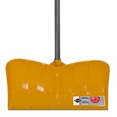 Poly blade snow shovel