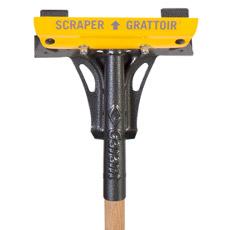 Long handle scraper